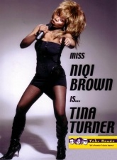 Niqi Brown As Tina Turner