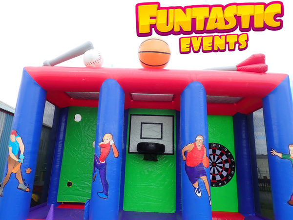 Inflatable Games Unit